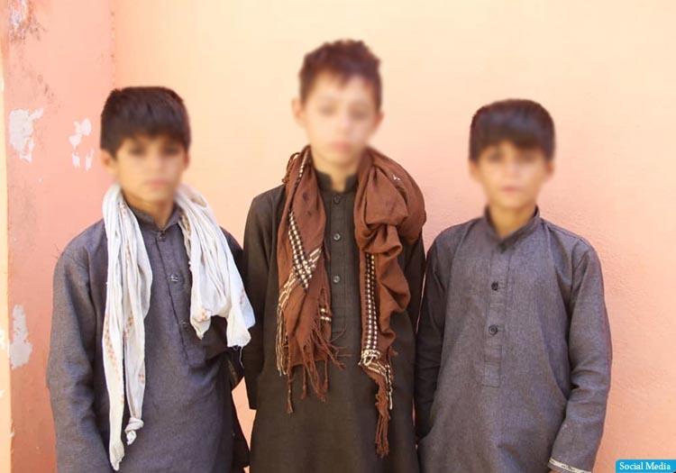 از قاچاق سه کودک به پاکستان، در ولایت کندز جلوگیری شد